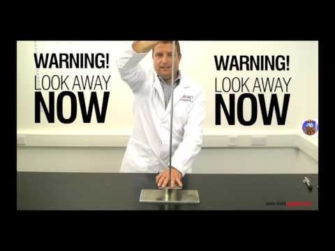 Super strong magnet reaction