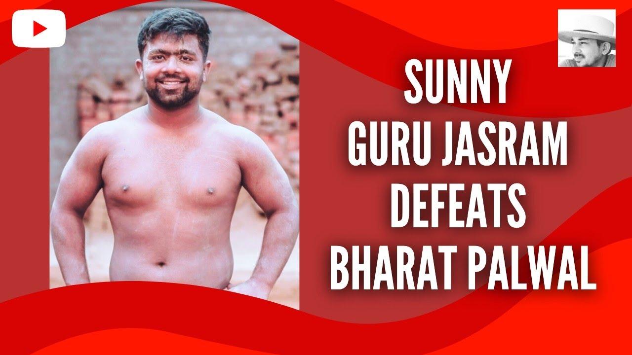 Sunny pahalwan Guru Jasram akhada defeats Bharat Pahalwan Samundar Akhada Palwal: KushtiWrestling.