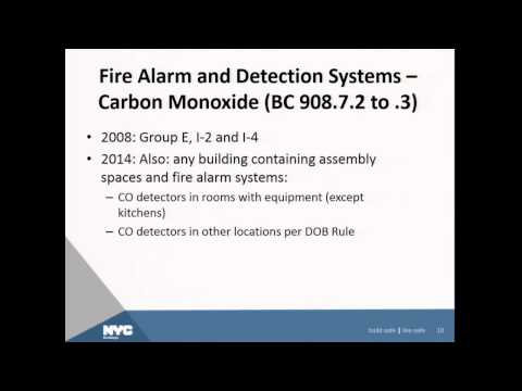 2014 Codes   Fire Protection Systems   James Colgate RA Esq