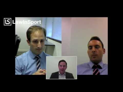 Football & the law - 1 - LawInSport TV