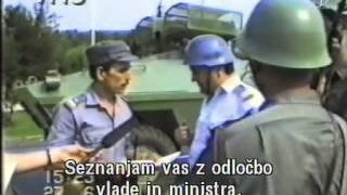 Domovina in država, vojna za Slovenijo, dokumentarni film 2006