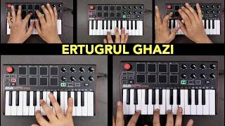 ERTUGRUL GHAZI Theme Music (instrumental Piano remix by Fuxino) | Dirilis Bgm Song