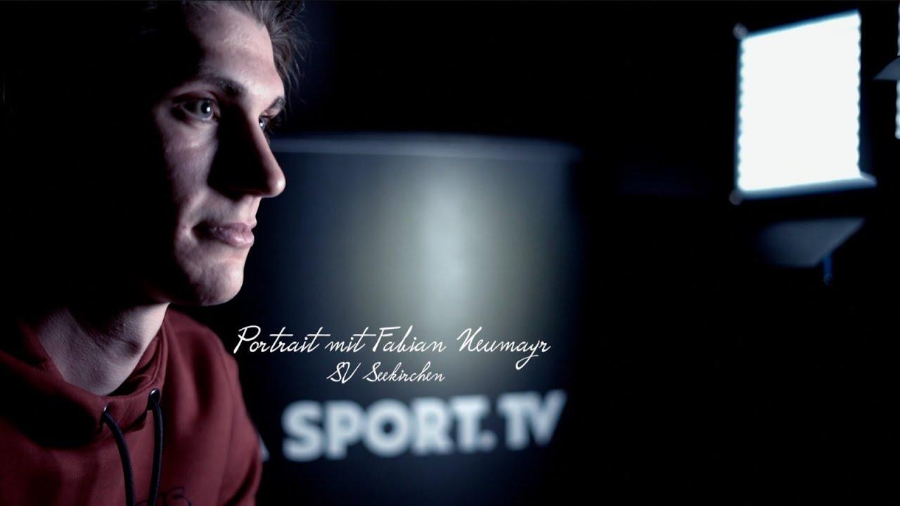 Fabian Neumayr der Spieler des SV Seekirchen war zu Gast im SizaSport.TV Portrait.