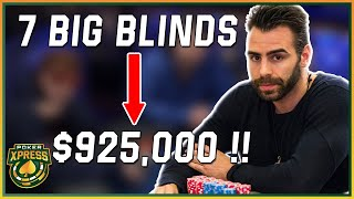 A chip and a chair: one of the MOST EPIC POKER COMEBACKS in WPT History!