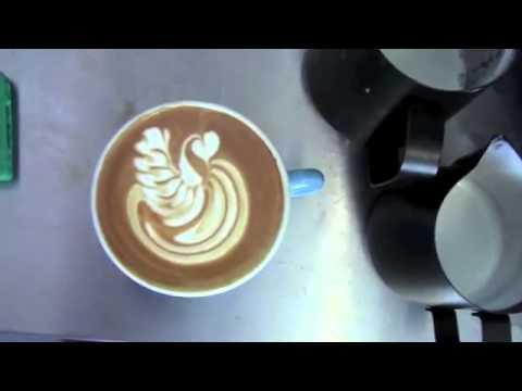World Best Latte Art - SWANS
