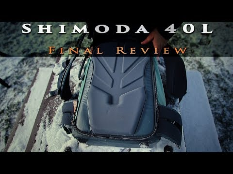 Shimoda 40L Camera Bag - final review  (shimoda vs fstop vs mindshift)