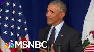 Tale Of Two Americas: President Trump & Barack Obama Offer Contrasting Visions | Kasie DC | MSNBC