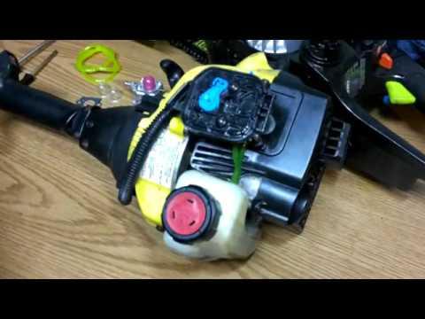 carburetor change on 25cc Bolens weed eater