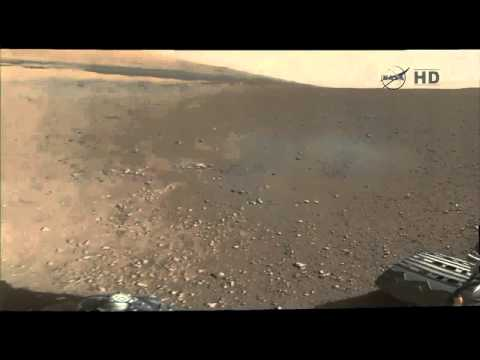 Curiosity's First Color Panaroma of Gale Crater, Mars | Video