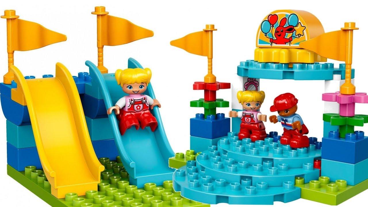 Lego Duplo Wesołe Miasteczko 10841 Unboxing Youtube
