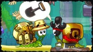 Snail Bob 2 Mobile Game Full Walkthrough All Levels