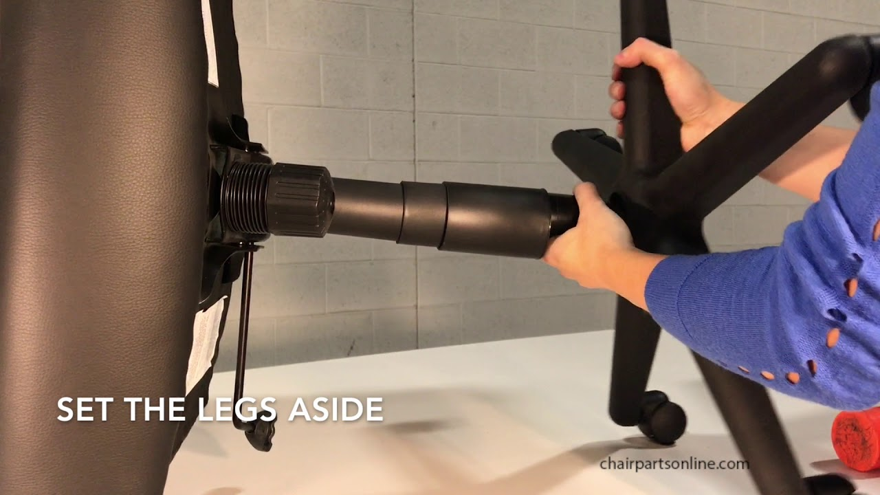Office Chair Mechanism Removal Chairpartsonline Youtube