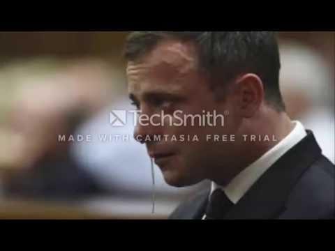 Oscar Pistorius Crying moment