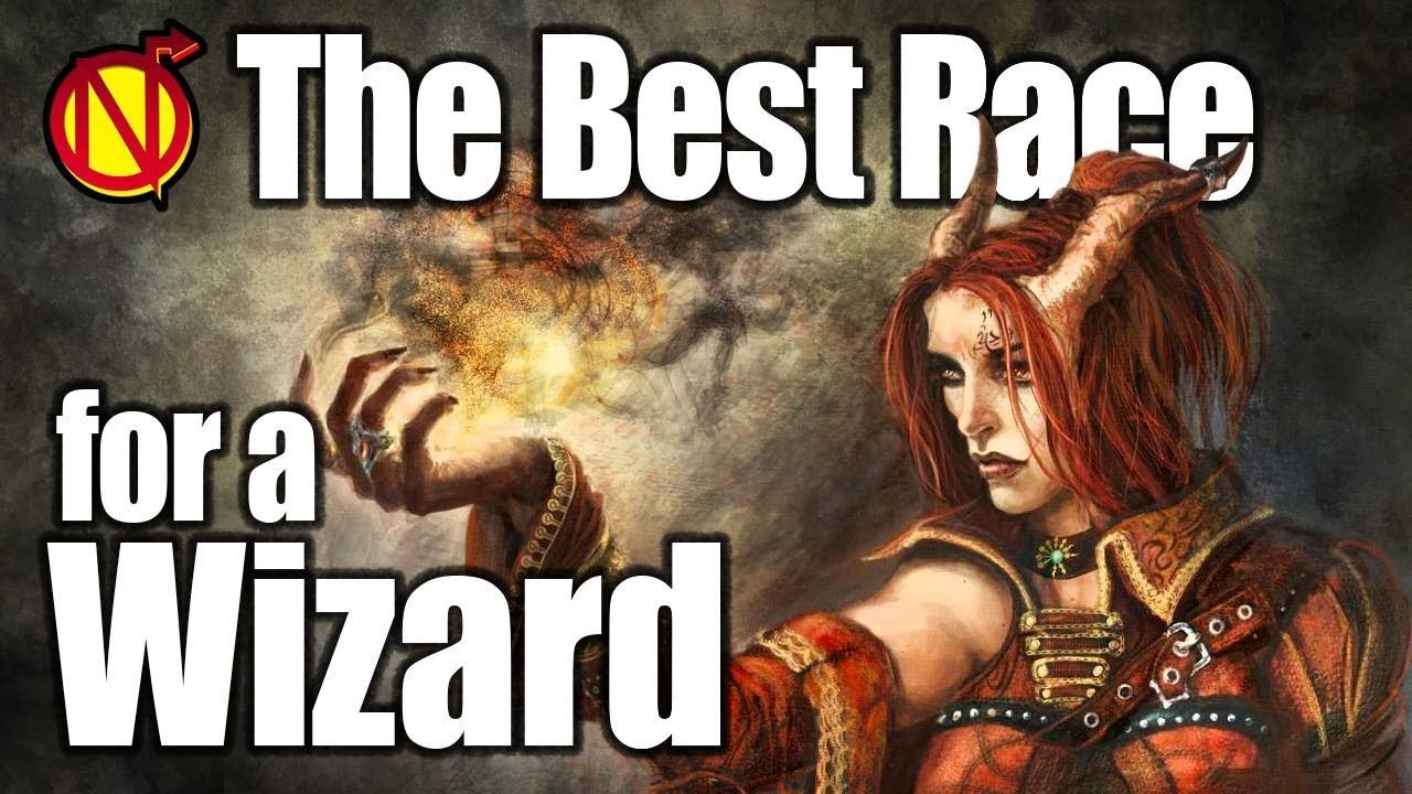 D&D Wizard- Best Race in 5th Edition Dungeons and Dragons