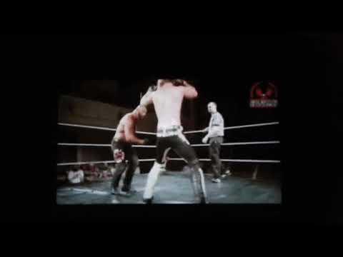 Angelico punches Bad Bones (no sanctuary/swe) 10 jun 17