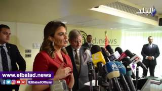 بالصور والفيديو.. سحر نصر: رئيس البنك الدولي أشاد بمشروعات البنية التحتية في مصر