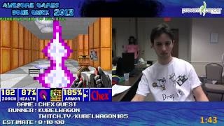 Chex Quest PC: SPEED RUN in 05:43 by kubelwagon at Awesome Games Done Quick 2013