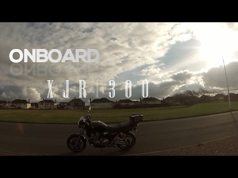 Yamaha XJR 1300 ONBOARD checking out the Wind Farm