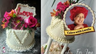 Valentine's Day Cake Decorating Ideas - Easy Buttercream Piping