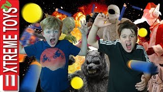 Extreme Toys TV Rewind! Sneak Attack Squad Bloopers and Messes!