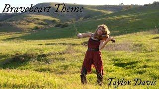 Braveheart Theme For the Love of a Princess Violin Cover Taylor Davis