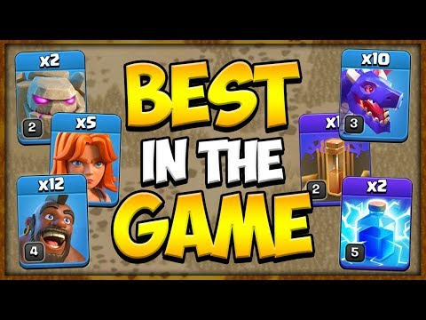 Best 2 Armies To 3 Star Every Town Hall 8 Base In Clash Of Clans | Clan War Attack Strategy Guide