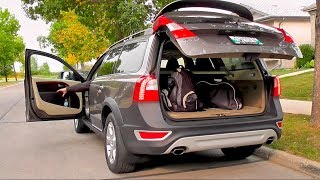 Tailgate Module Installation on Volvo XC70/V70 with hydraulic drive.