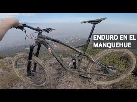 Viviendo en Santiago y pedaleando senderos en el Cerro Manquehue!