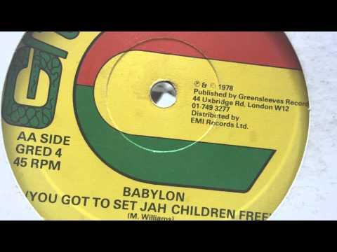 Cygnus - Babylon (You Got To Set Jah Children Free) [GREENSLEEVES RECORDS]