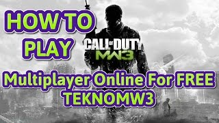 How to play call of duty modern warfare 3 multiplayer online for free [PC] {100% working}