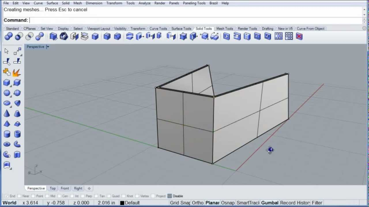 Rhino Visual Tips: Chapter 13: Solid Tools: Turn Solid Control Points