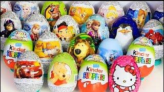 🚕⛱☘💖 Surprise Eggs 2 hours long video☘⭐🎀🎈