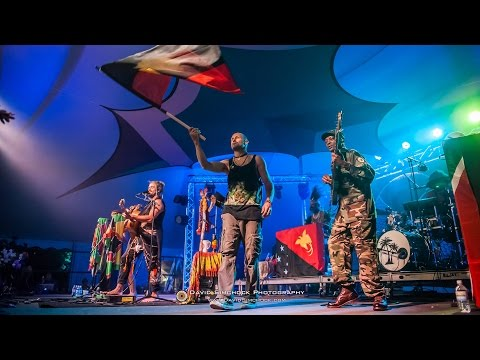 """Xavier Rudd and The United Nations @ LEAF Spring 2015 - """"Flag"""""""