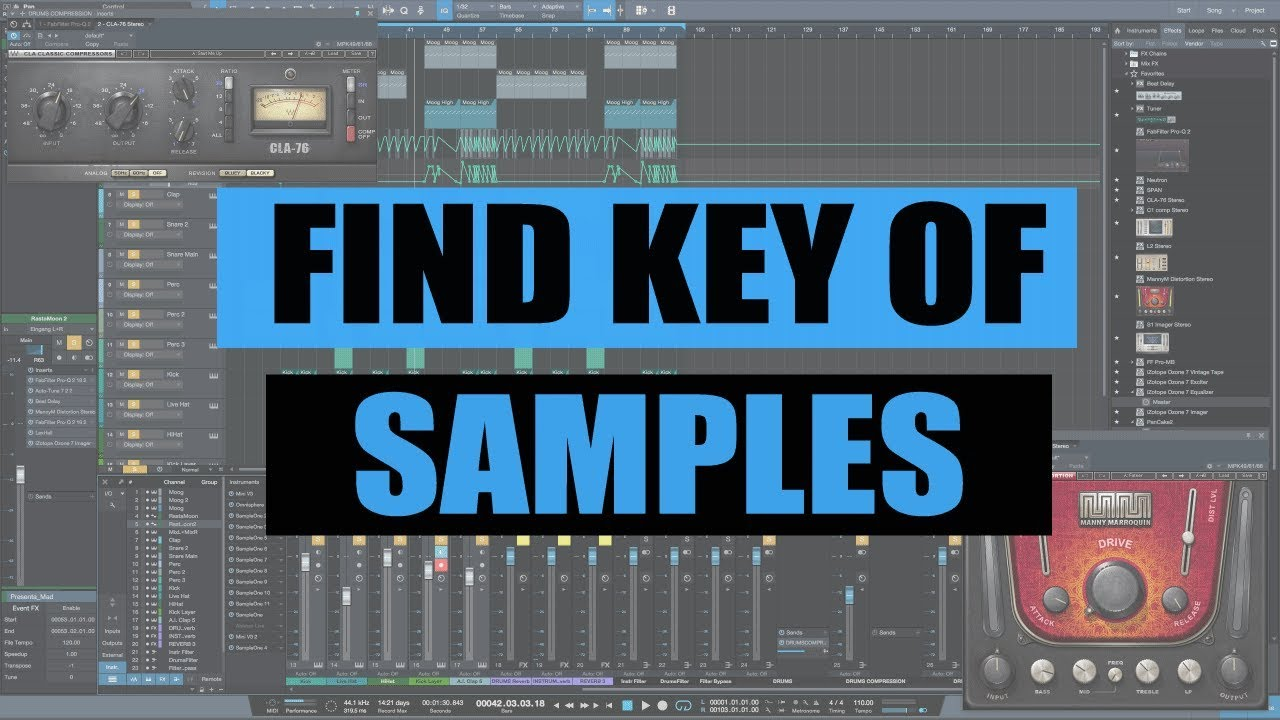TOP 3 Plugins To Find The Key Of A Sample In Any DAW