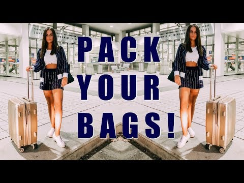 How I Stay Organized for Travel - Packing Tips || EJB