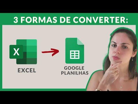3 formas de converter suas Planilhas do Excel em Google Planilhas - Dicas Google Sheets