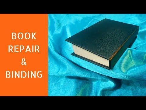 Book repair and binding