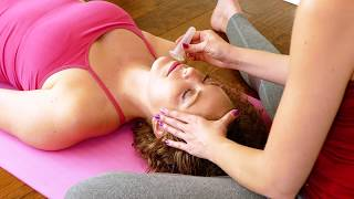 Relaxing Facial Massage with Melissa ♥ How To, Natural Skin Care Tips, Tutorial Massage Cup for Face