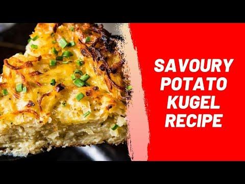 Savoury Potato Kugel Recipe