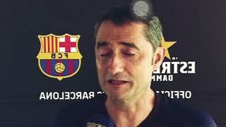 Declaraciones de Valverde sobre Griezmann y Frenkie de Jong