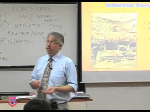 HCIV102 20100628 LECTURE12   Consequences of The Industrial Revolution