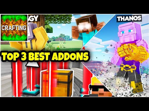 Top 3 Most Popular Addons For Crafting And Building