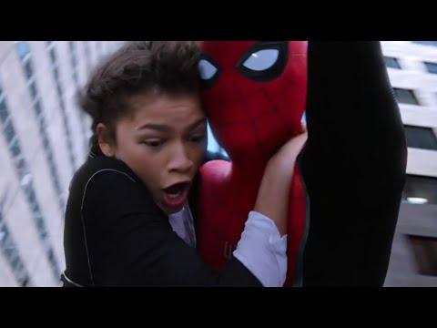 【谷阿莫】守護世界的超強武器送你,以後你負責保護地球,我負責用鈔能力把妹2019《蜘蛛人:離家日》