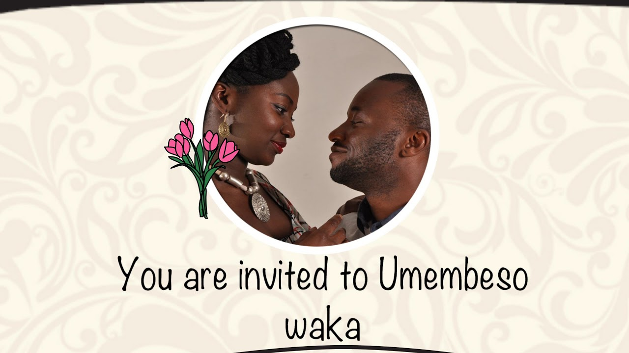 Best South African Wedding Invitations Gone Digital Mansa Digital