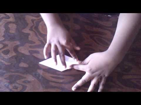 How to make paper Eiffel tower