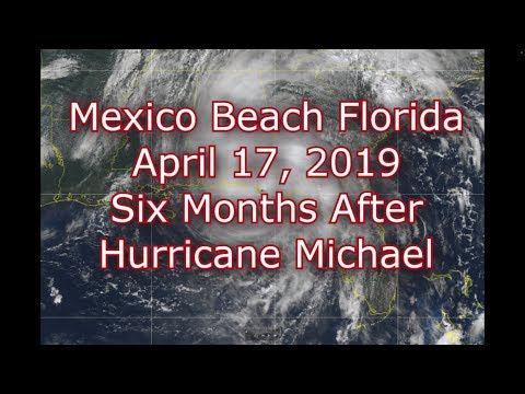 Pics of mexico beach florida after michael