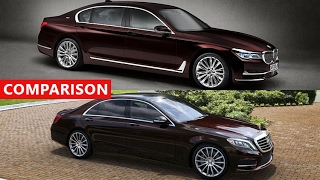 2017 BMW 760Li xDrive vs 2018 Mercedes Maybach S600 - INTERIOR EXTERIOR TEST DRIVE