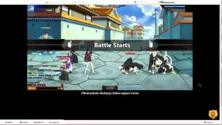 GoGames bleach online mmorpg game