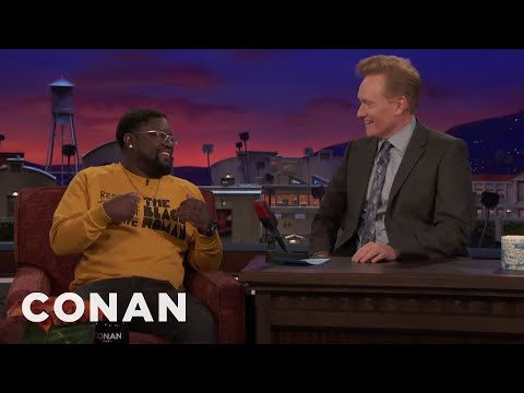 Conan vs. Lil Rel Howery Grew Up Watching Late Night with Conan O'Brien