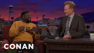 """Lil Rel Howery Grew Up Watching """"Late Night With Conan O'Brien""""  - CONAN on TBS"""